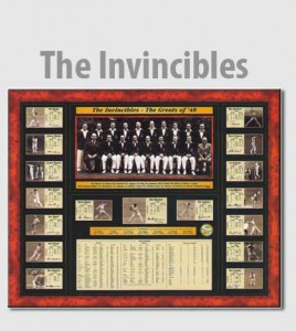 "Limited Edition Commemorative Release of the 1984 Australian Cricket Team ""The Invincibles"""