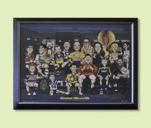 Colourful 80's Characters of Rugby League