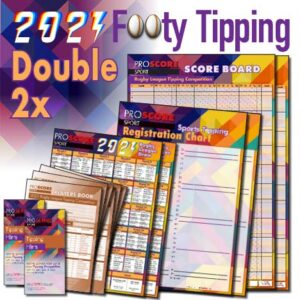 ProScore Rugby League (only) Tipping 2021 Double Pack