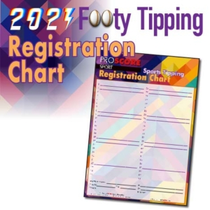 ProScore Rugby League (only) Tipping 2021 Rego Chart