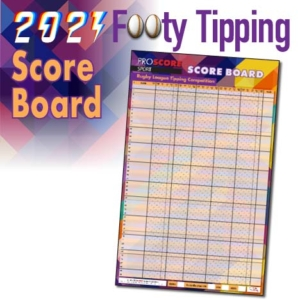 ProScore Rugby League (only) Tipping 2021 Score Board