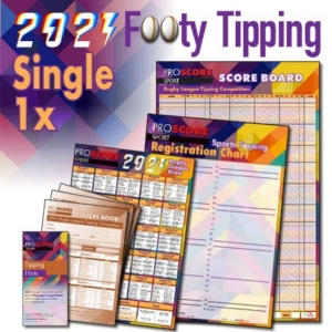 ProScore Rugby League (only) Tipping 2021 - Single tipping pack