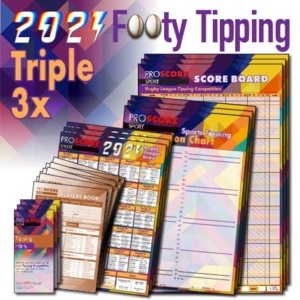 ProScore Rugby League (only) Tipping 2021 -Triple Pack