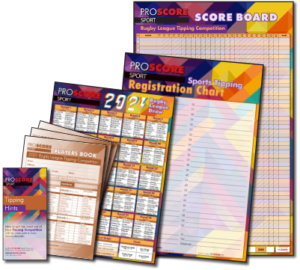 ProScore Rugby League (only) Tipping 2021 - packs