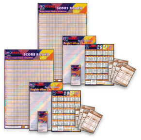 ProScore Rugby League (only) Tipping (Double Pack)